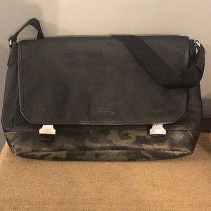 Men's Coach Messenger Bag